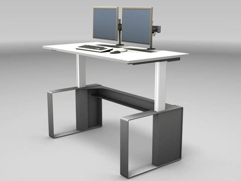 Sitz- und Steharbeitsplätze